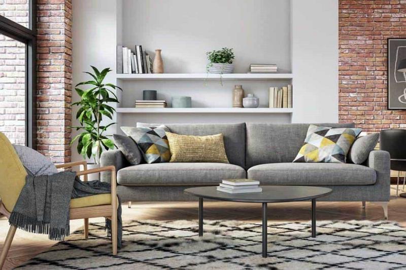 ¿De qué color va el sillón reclinable con pared gris? 3 ideas